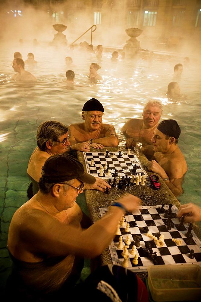 Szechenyi Bath and Spa Budapest. Budapest, Hungary, Europe
