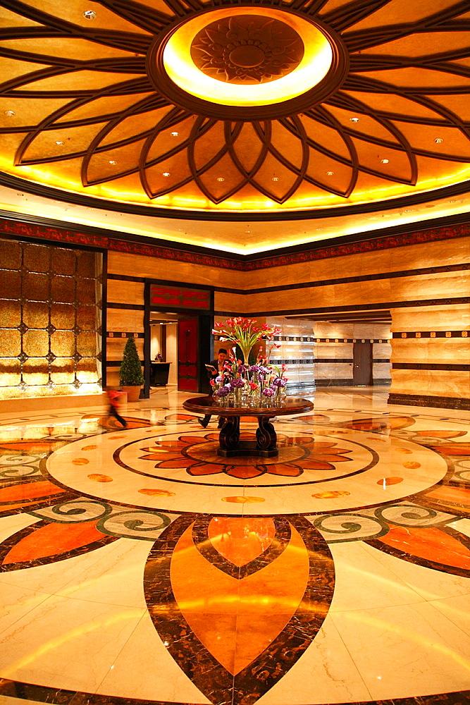 China, Macau, Conrad Hotel, lobby,
