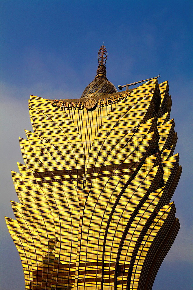 China, Macau, Grand Lisboa, hotel, casino,