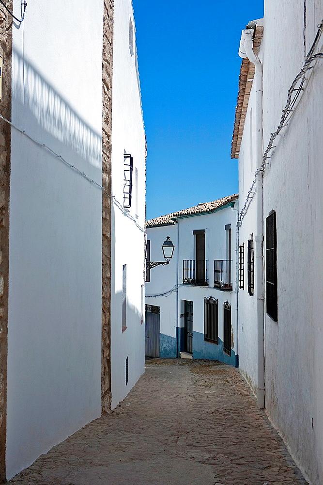 Street of Sabiote, Jaen province, Spain