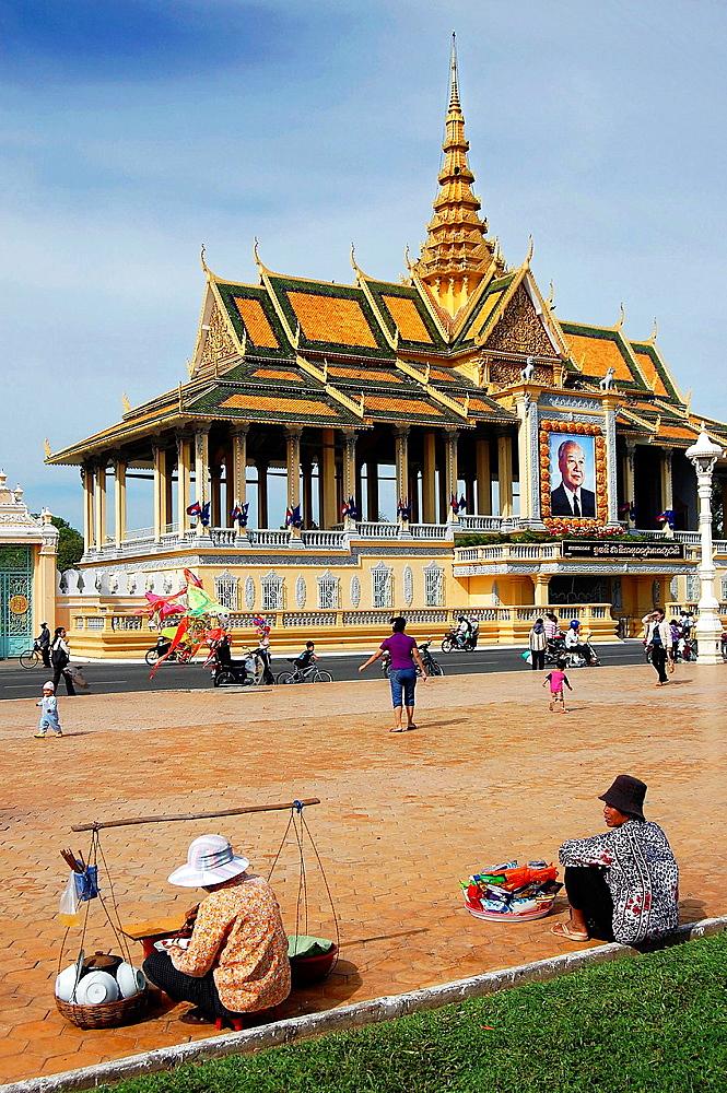The Royal Palace in Phnom Penh. Cambodia, Phnom Penh