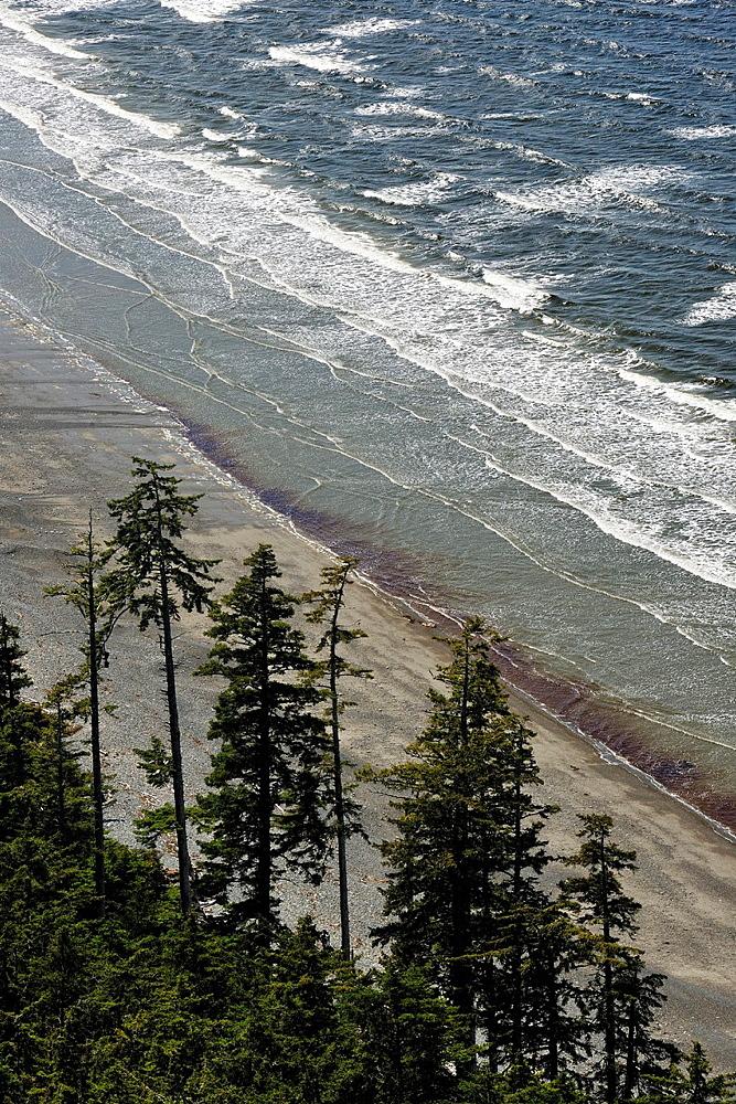 View from Tow Hill, Naikoon Provincial Park, Graham Island, Haida Gwaii, British Columbia, Canada.