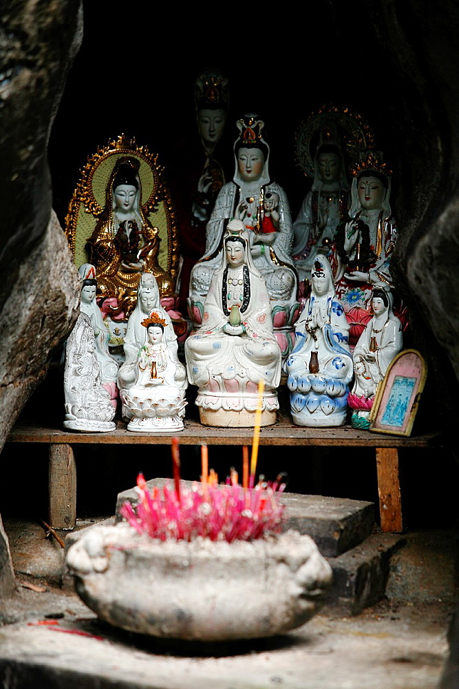 Small Buddhist temple in Guilin, China