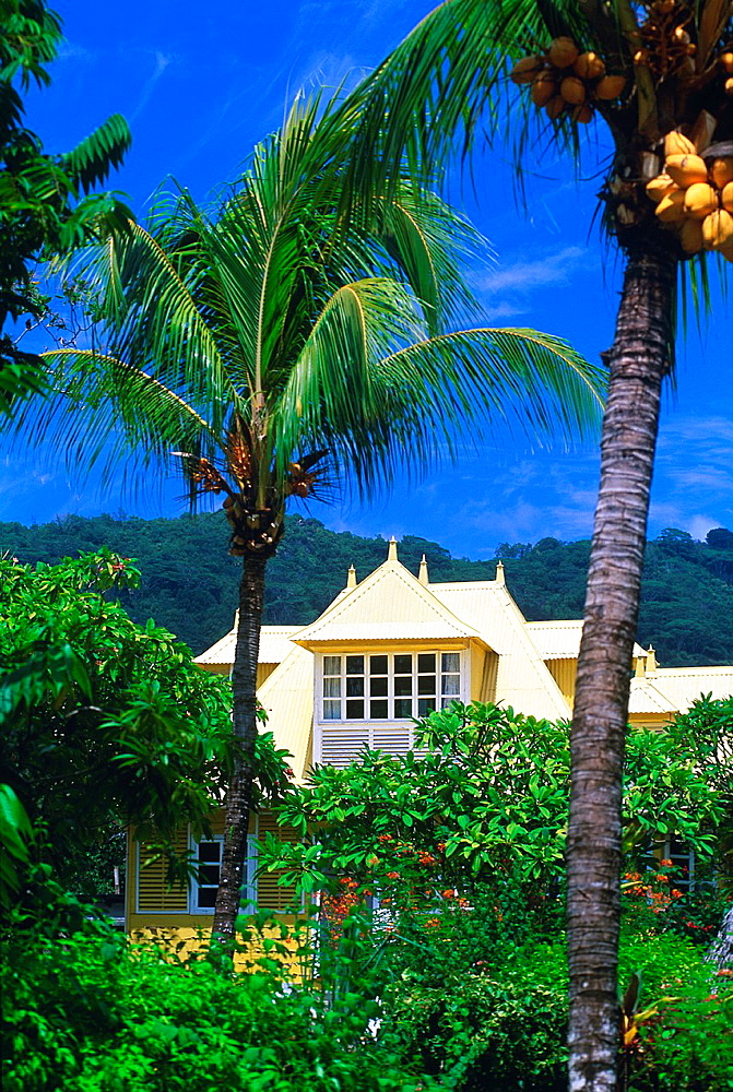 villa at La Digue island, Republic of Seychelles, Indian Ocean - 817-440233