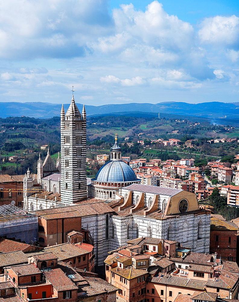 Cathedral Santa Maria Assunta in Siena, Italy.