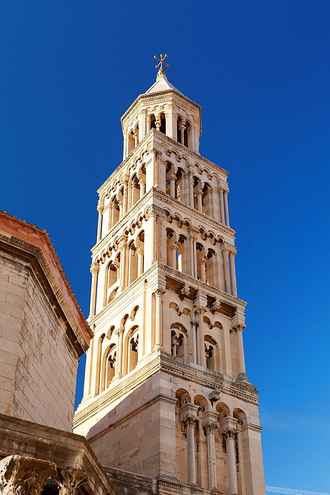 Croatia, Split, Diocletian's Palace in the Old Town, Dalmatia, Croatia, UNESCO.