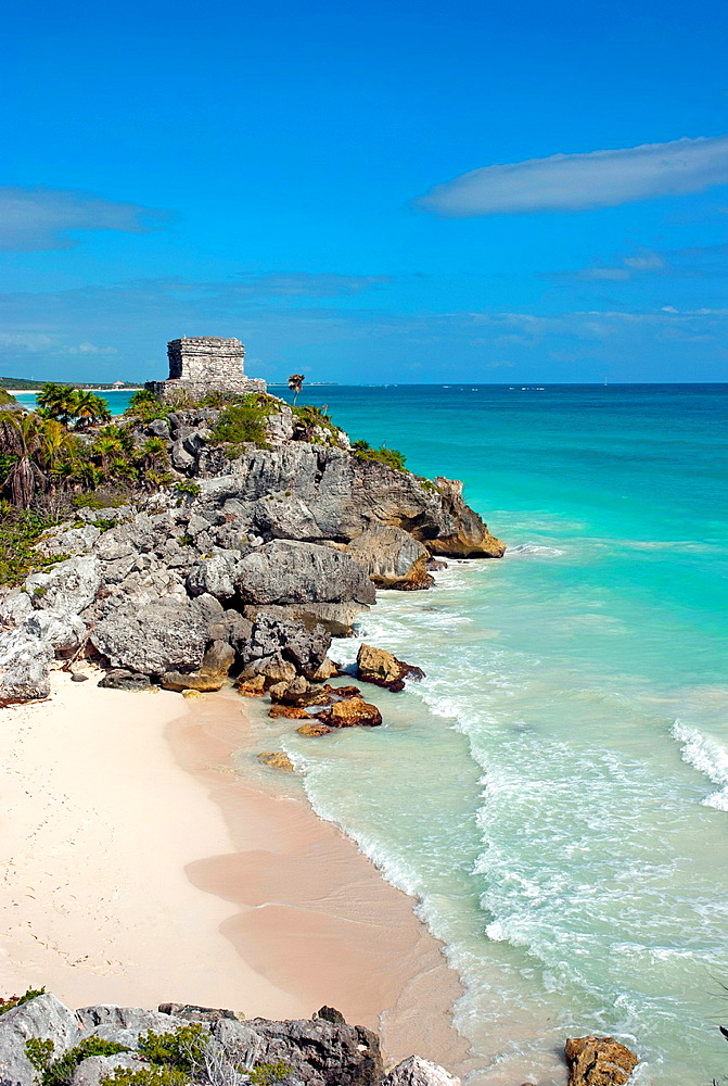 Maya ruins in Tulum, Mexico.