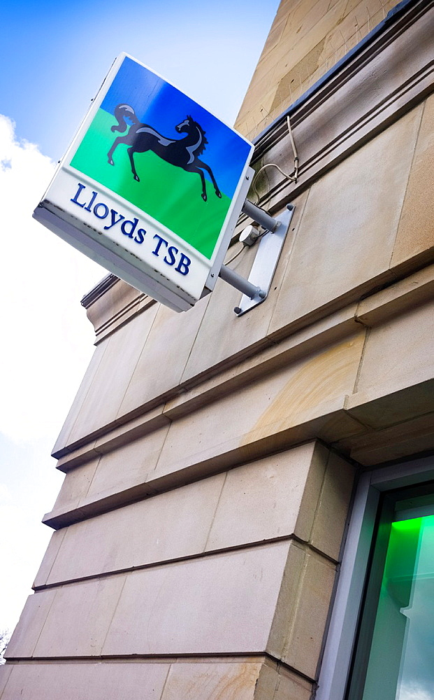 Lloyds TSB Bank Sign.