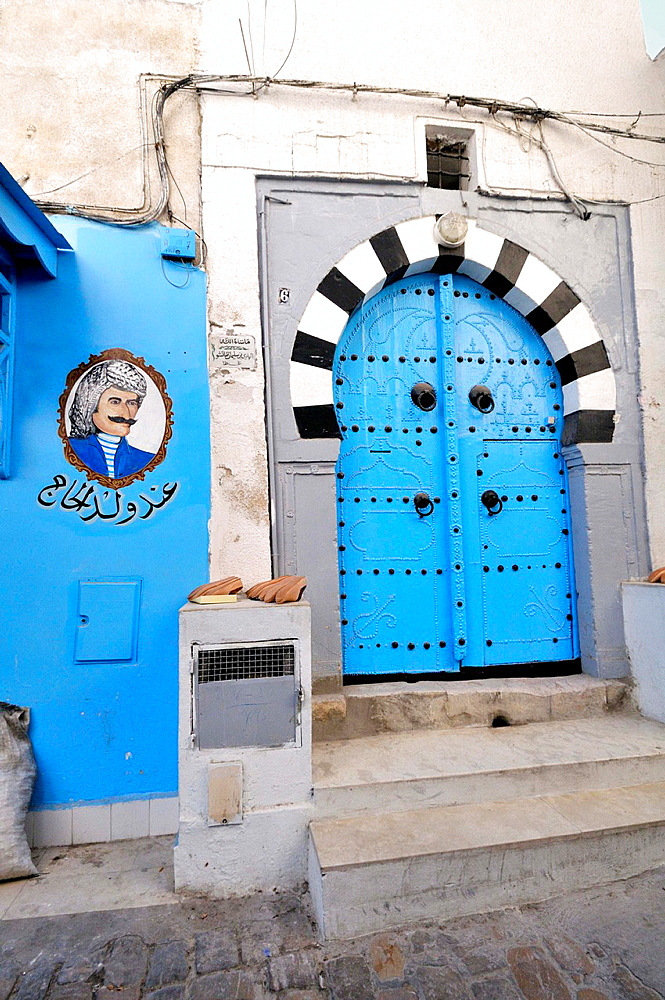 Door. Tunis Medina. Tunisia.