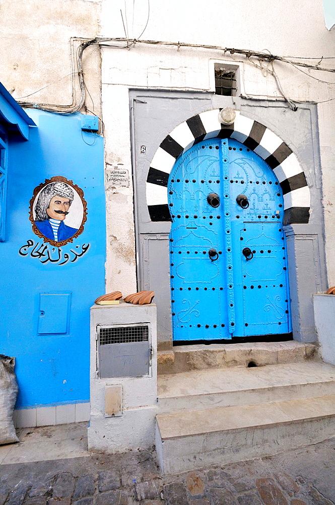 Door. Tunis Medina. Tunisia.