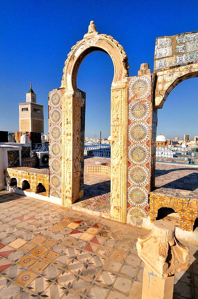 Tunis Medina. The Great Mosque. Tunisia.