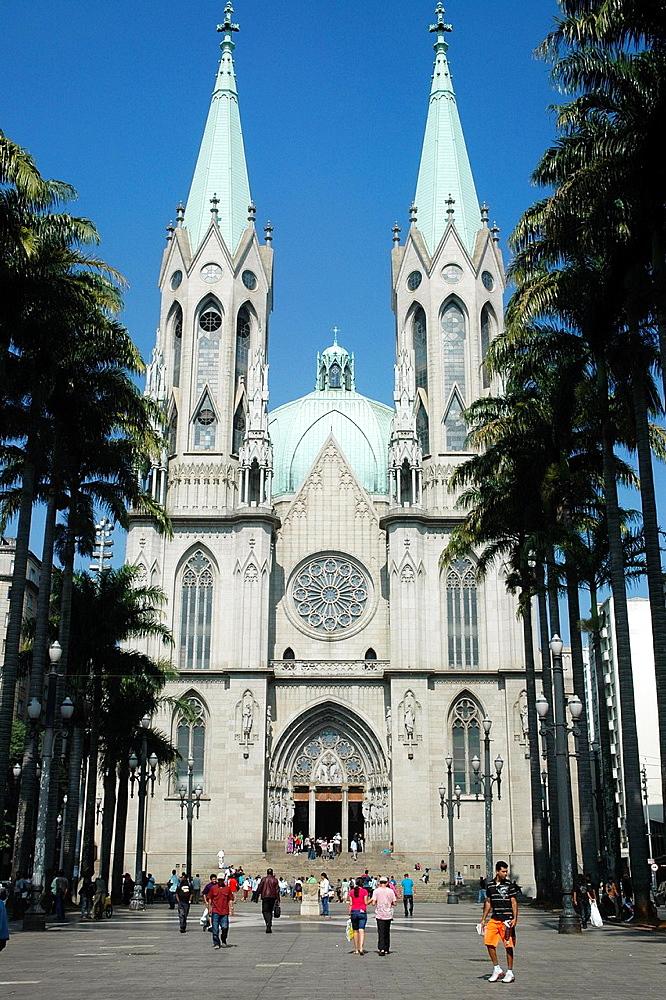 Sao Paulo, Brazil, Catedral da Se