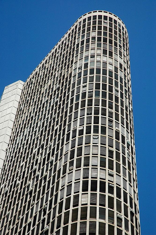 Sao Paulo, Brazil, the Edificio Italia, along Avenida Sao Luis