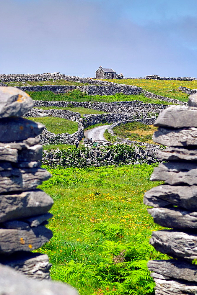 Inis Oirr, Arran Islands, County Galway, Ireland.