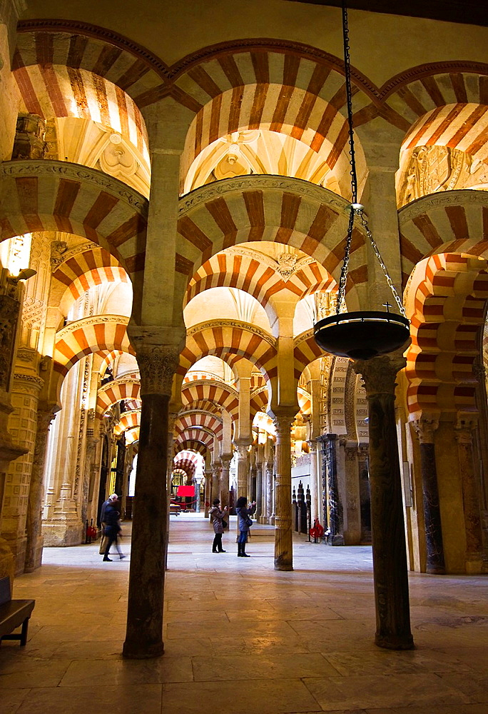 Great Mosque, Cordoba, Andalucia, Spain, Europe.