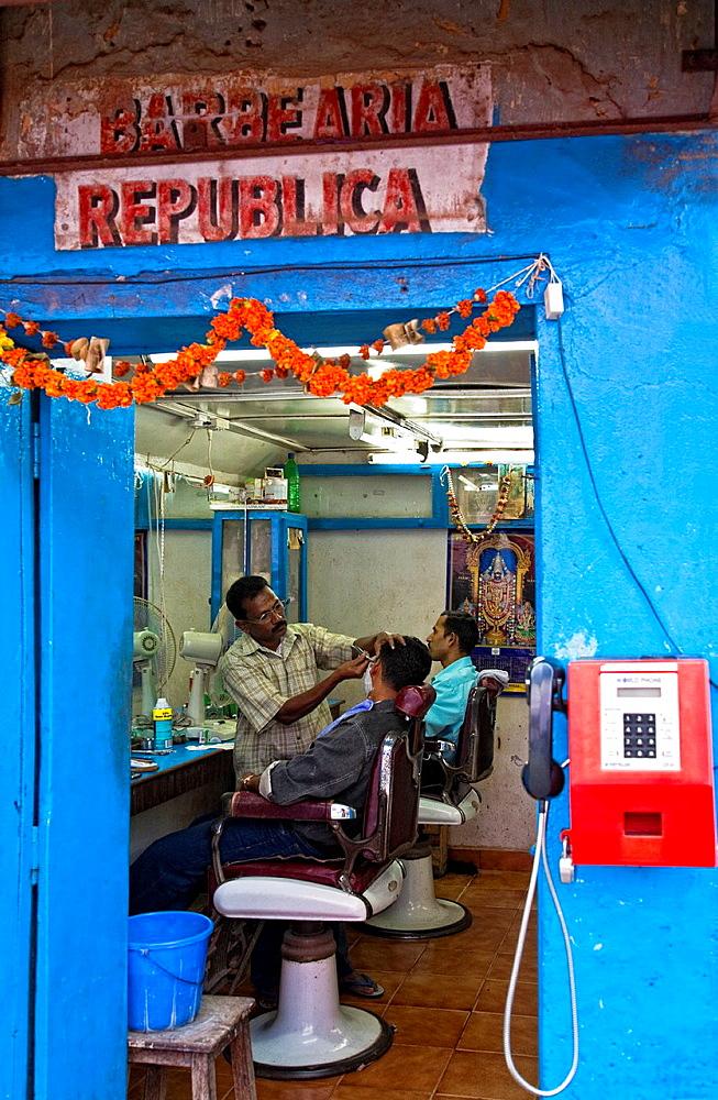 Hair Salon In Panjim.Goa. India.