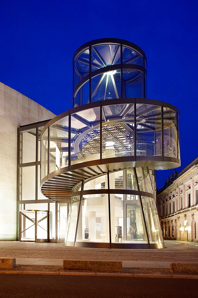 German Historical Museum by architect I. M. Pei in Berlin