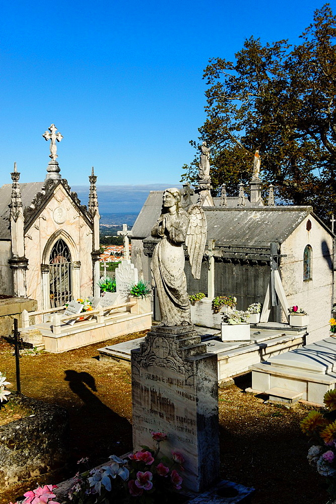funeral Pantheon, cemetery, Gouveia, Serra Da Estrela, Beira Alta, Portugal, Europe.
