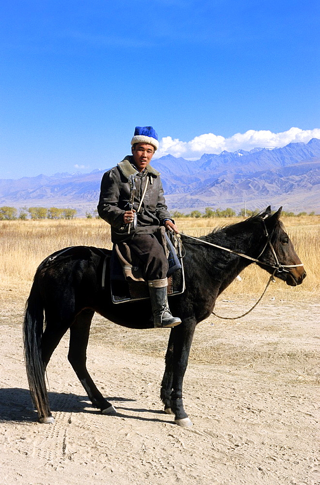 Kyrgyz Rider, Mountains, Local People.