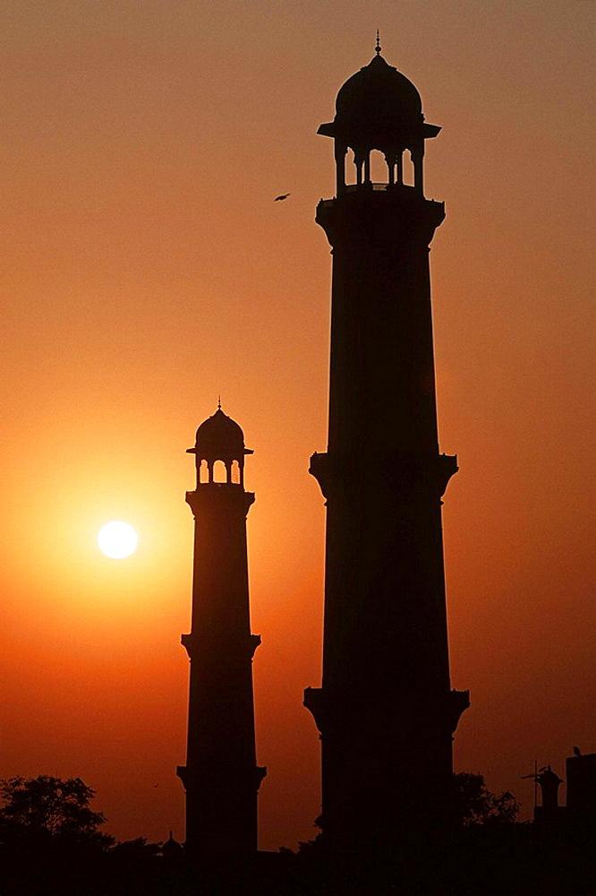 Pakistan, Punjab Region, Lahore, Badshahi Mosque