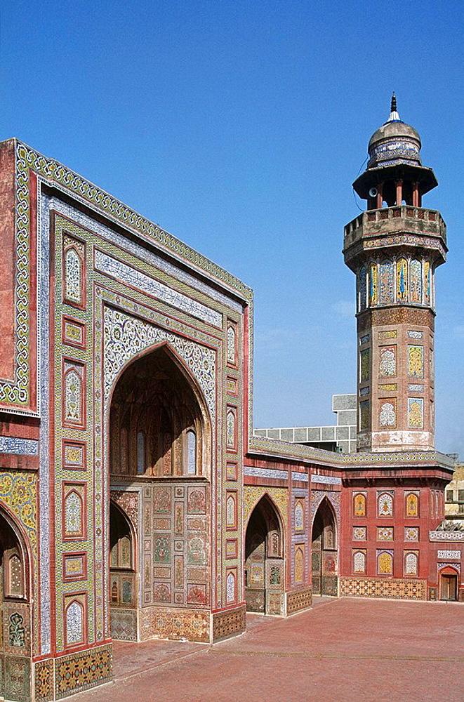 Pakistan, Punjab Region, Lahore, Wazir Khan Mosque