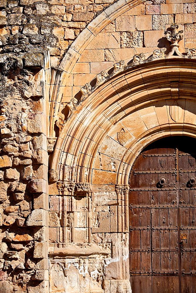 Santes Creus Monastery. Part of the Cistercian Route in Tarragona, Catalonia, Spain.