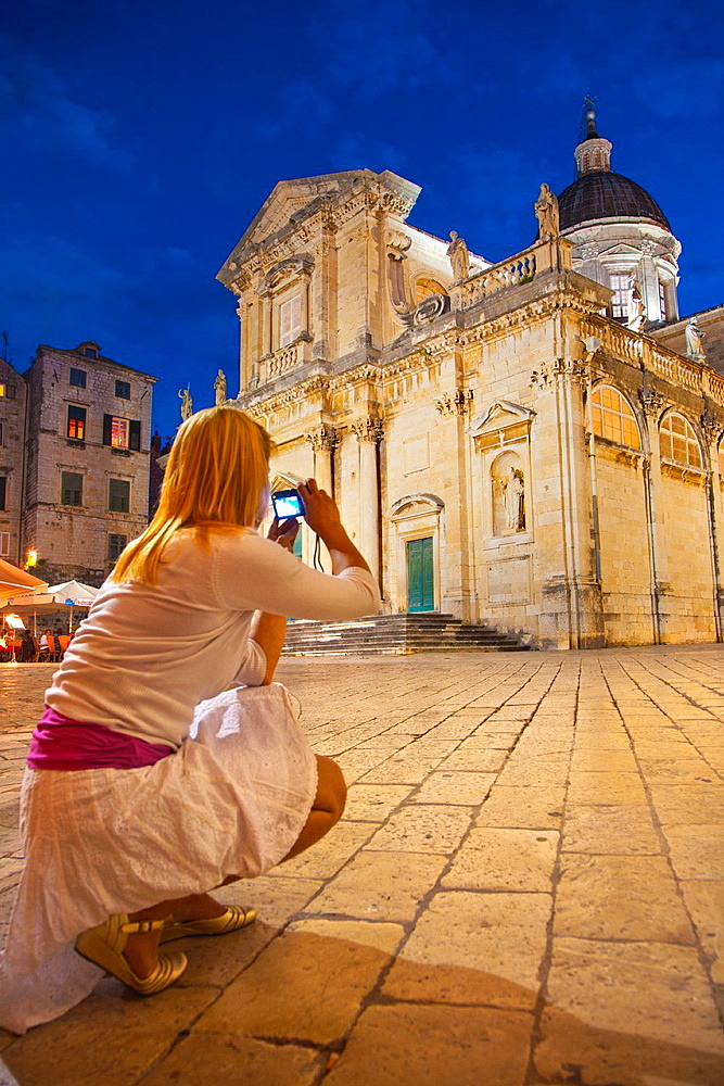 Cathedral of the Assumption of the Blessed Virgin Mary (1714). Dubrovnik, Croatia.