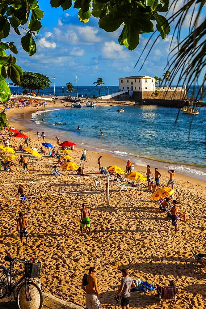 Porto da Barra beach, Salvador, Bahia, Brazil