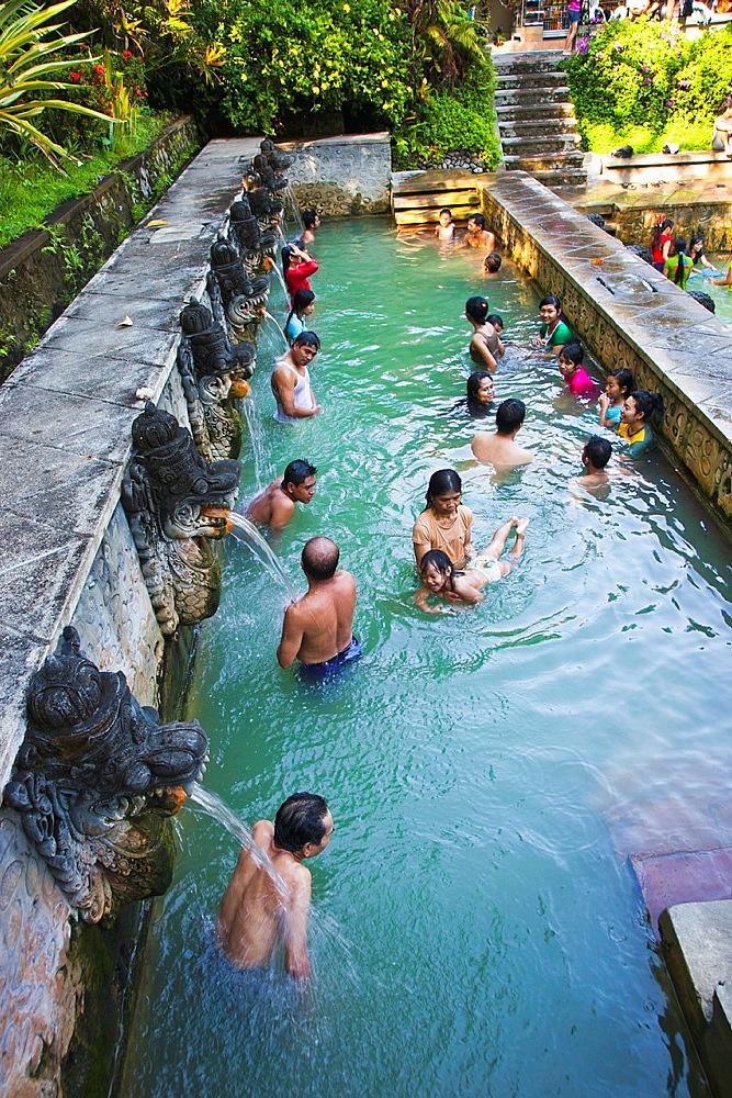 Air Panas hot springs, Banjar, Bali, Indonesia