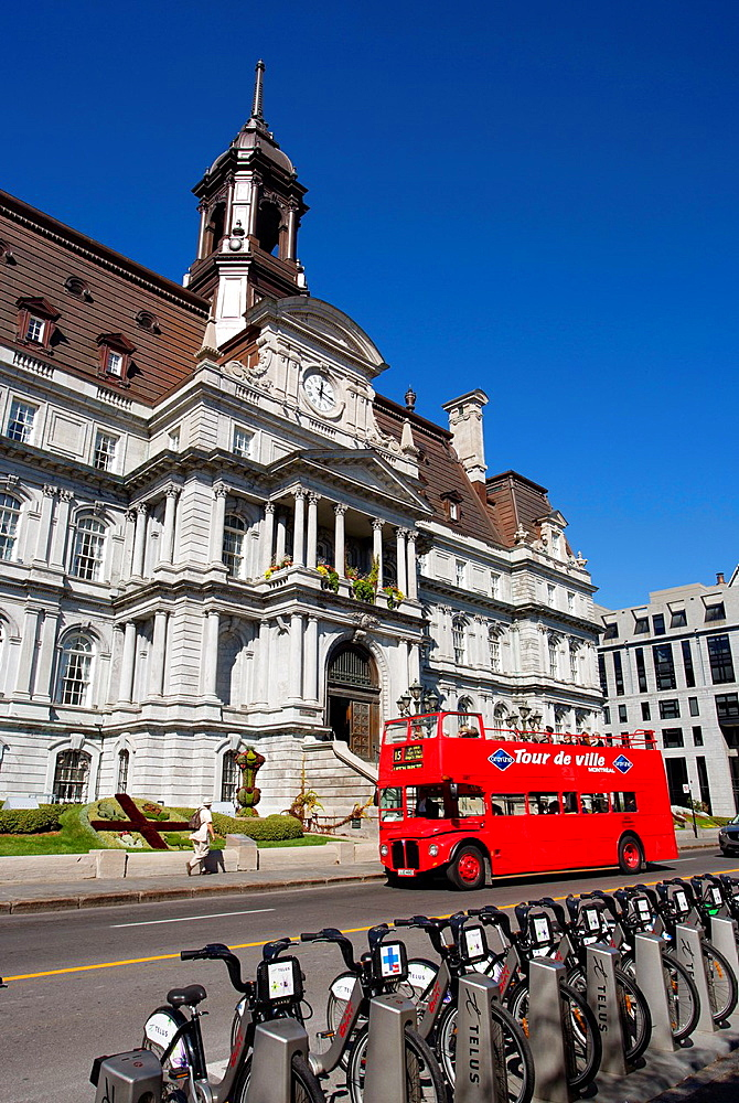 Canada , Quebec Province , Montreal City , City Hall Bldg.