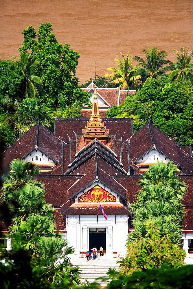 The Royal Palace in Luang Prabang, Laos.