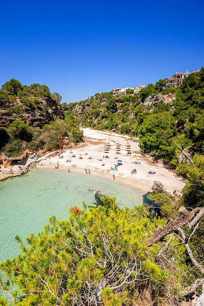 Cala Pi, Llucmajor, Migjorn region. Mallorca. Balearic Islands. Spain.