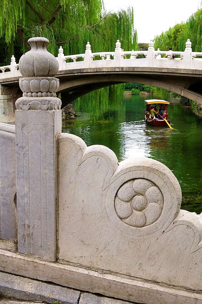 Bridge in Yiheyuan Summer Palace, Beijing, China.