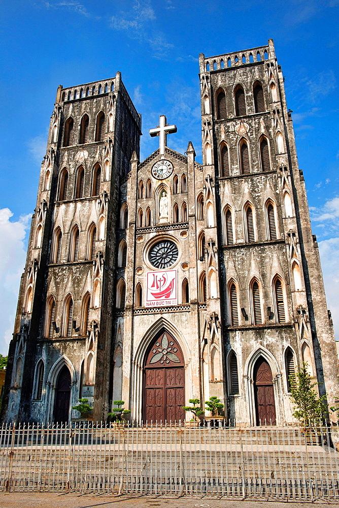 St. Joseph's Cathedral in Hanoi, Vietnam.