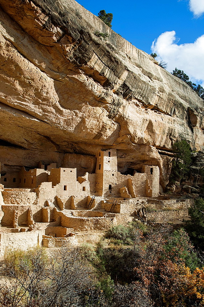 Cliff Palace, Mesa Verde National Park, Colorado, USA