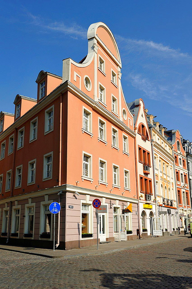 Tirgonu street, Old Town, Riga, Latvia, Baltic region, Northern Europe.