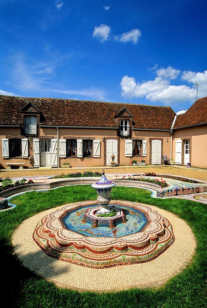 Jardins de la Feuilleraie, Happonvilliers, Eure & Loir department, region Centre, France, Europe.