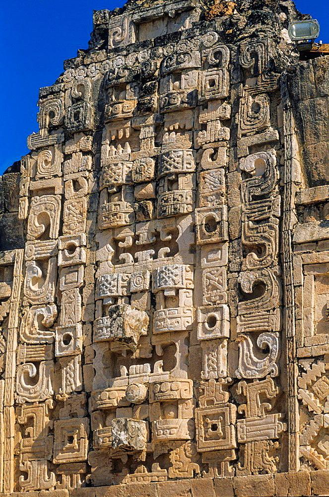 Cuadrangulo de las Monjas (Nuns Quadrangle). Uxmal. Yucatan. Mexico