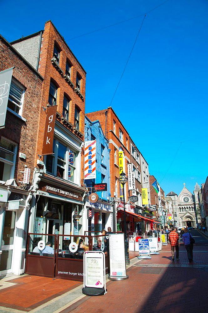 Anne Street central Dublin Ireland Europe.
