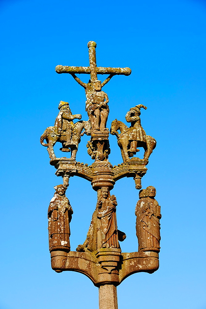 France, Briitany, Finistere, St Marie du Menez Hom.