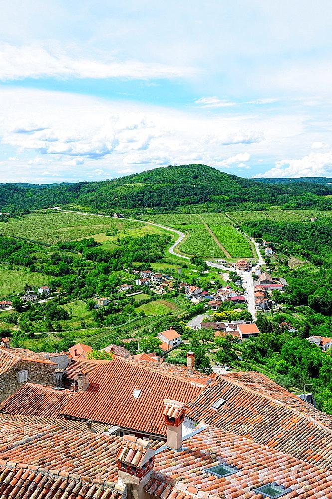 Istria, Croatia, Motovun.