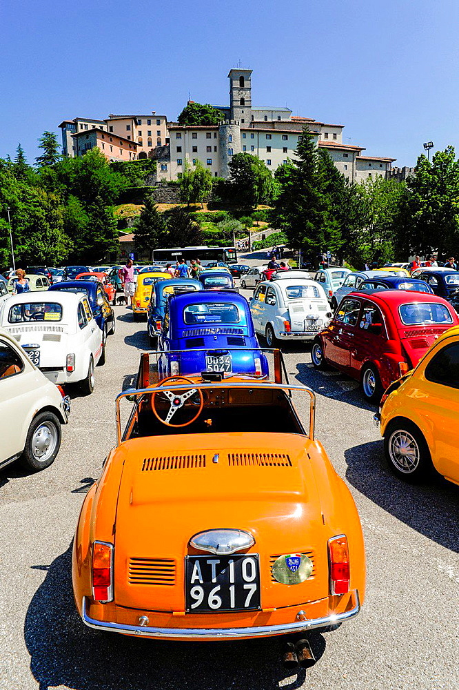 Oldtimer, Italy, Friaul-Julian Venetia, Castelmonte.