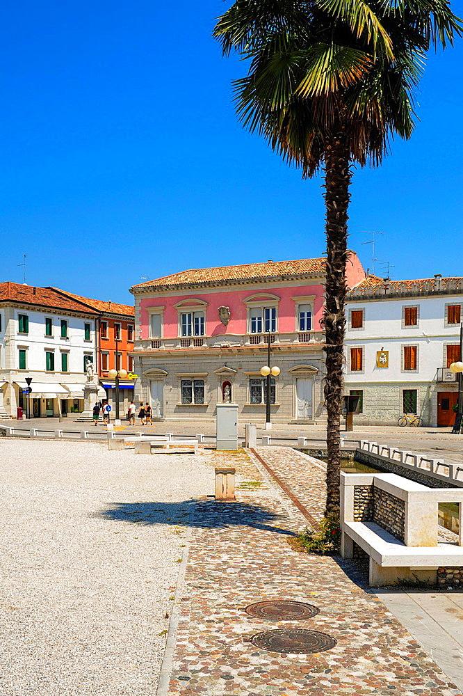 old city center, Italy, Friaul-Julian Venetia, Palmanova.
