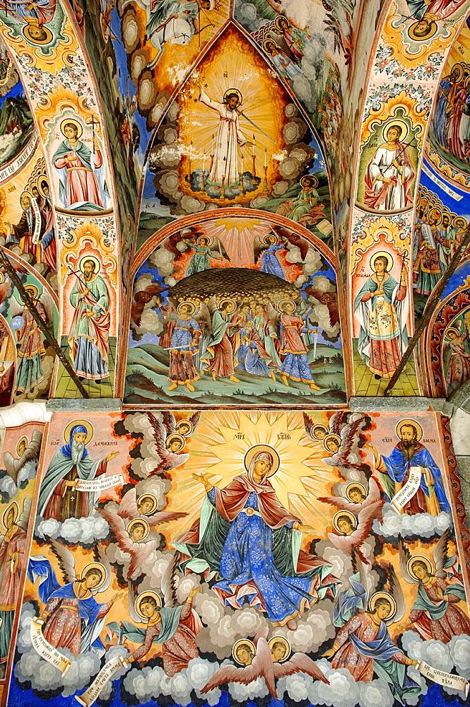 Rila monastery, Bulgaria, Rila Mountains, Rila.