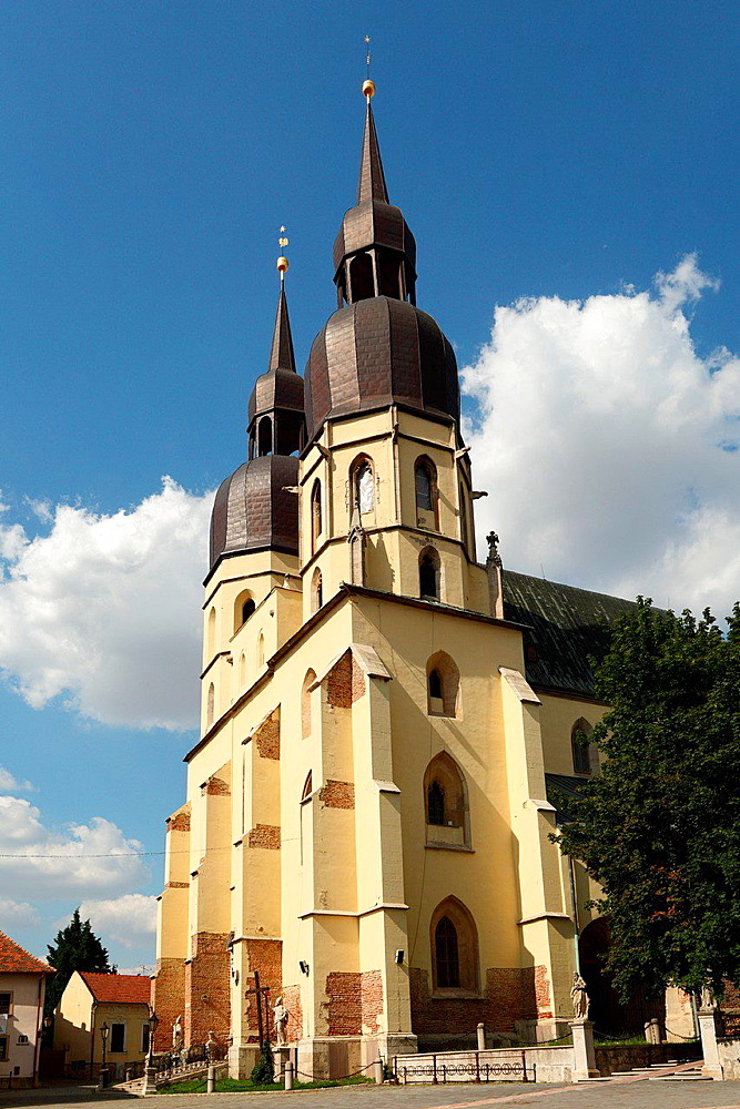 The gothic basilica of St. Nicolaus, Trnava, Slovakia.