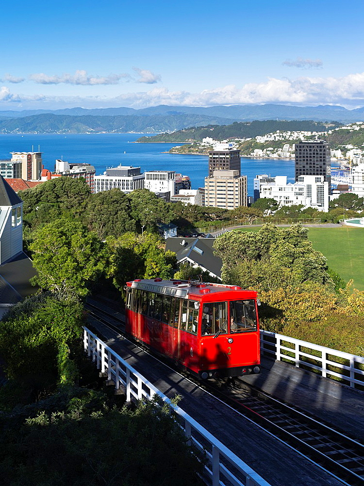 Botanic Garden Wellington New Zealand Cable Car Wellington.