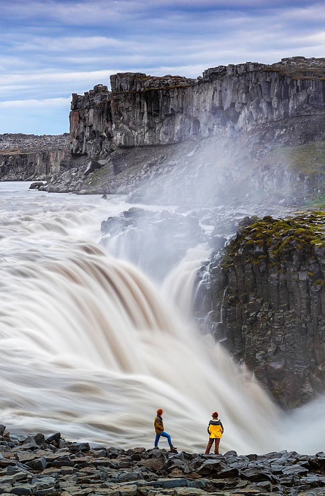 Dettifoss waterfall. Jokulsargljufur National Park. Iceland, Europe.