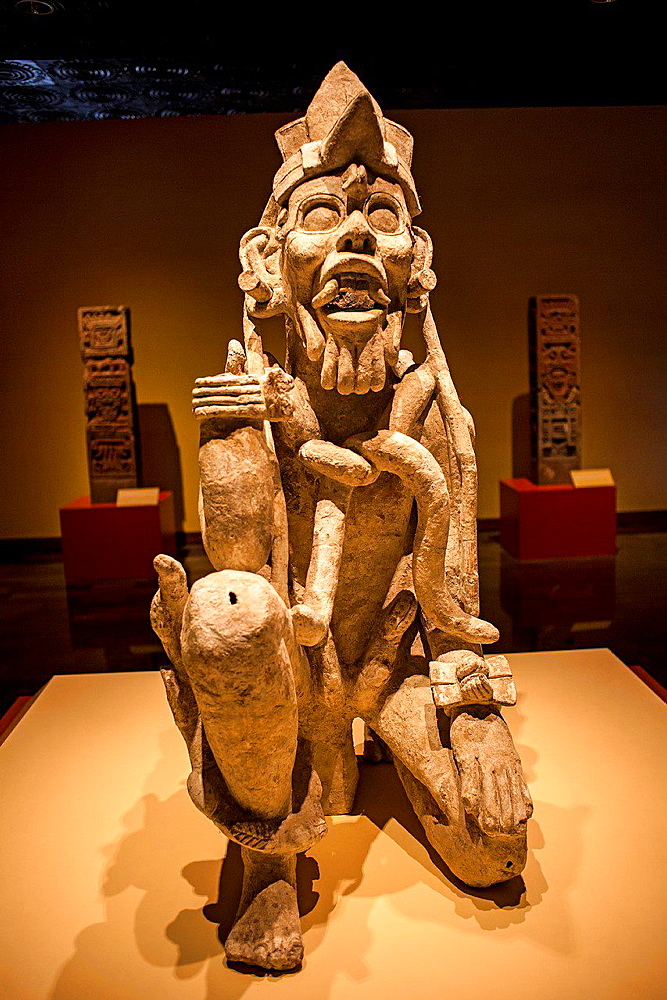 National Museum of Anthropology. Mexico City. Mexico.