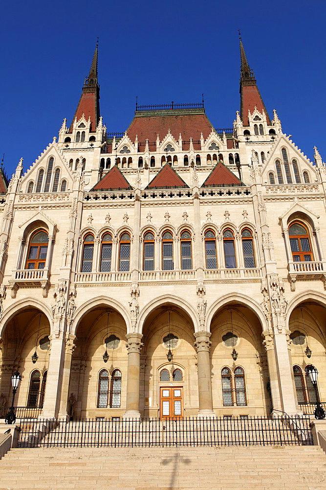 Hungarian Parliament House, Budapest, Hungary.