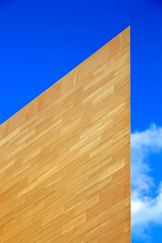 Close up of the East Building of the National Gallery of Art, Washington D.C., USA.